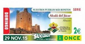 Cupón Once Alcalá del Júcar