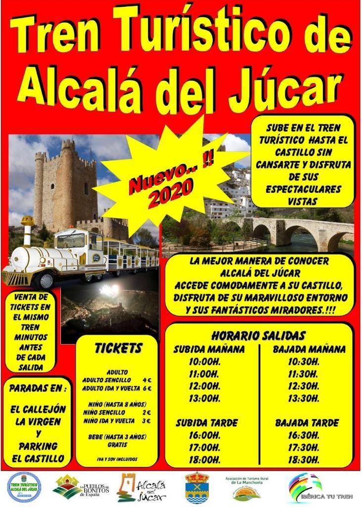 TREN TURÍSTICO EN ALCALÁ DEL JÚCAR