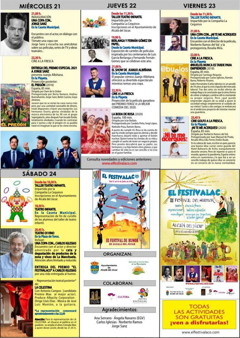 «El Festivalaco» de Alcalá del Júcar